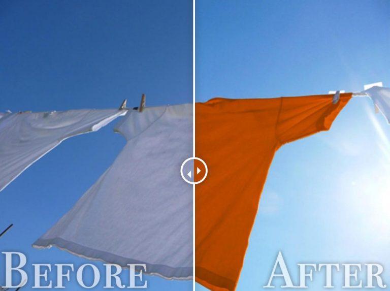 色の変更before-after
