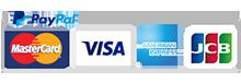 PayPal-MasterCard-VISA-AmericanExpress-JCB