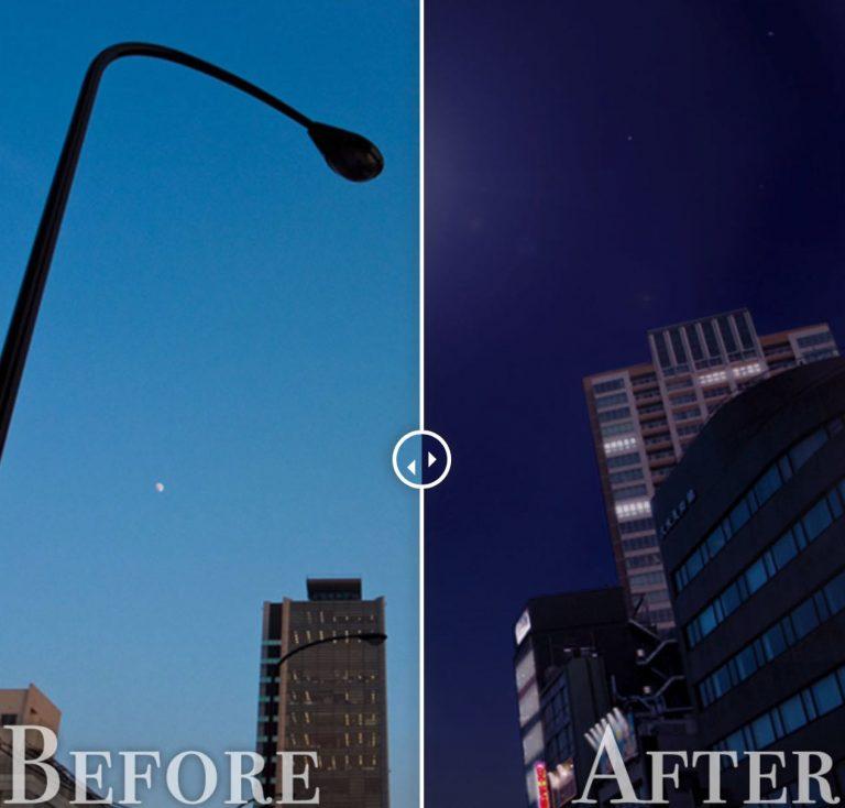 昼夜変更before-after